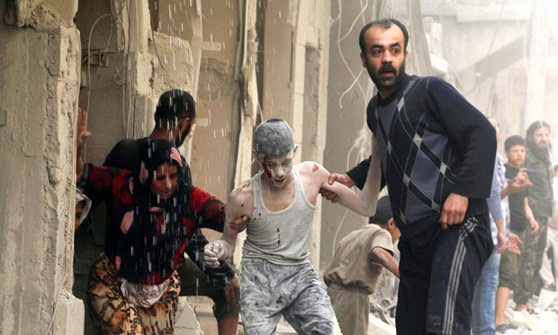 AHRC urgesimmediate ceasefire and humanitarian relief to the city of Aleppo in Syria: