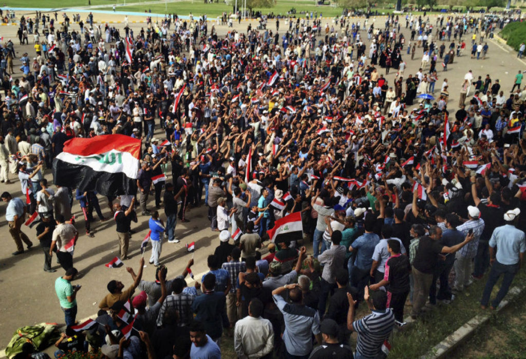 AHRC Calls for Protection of Peaceful Iraqi Protesters, Calls for dialogue