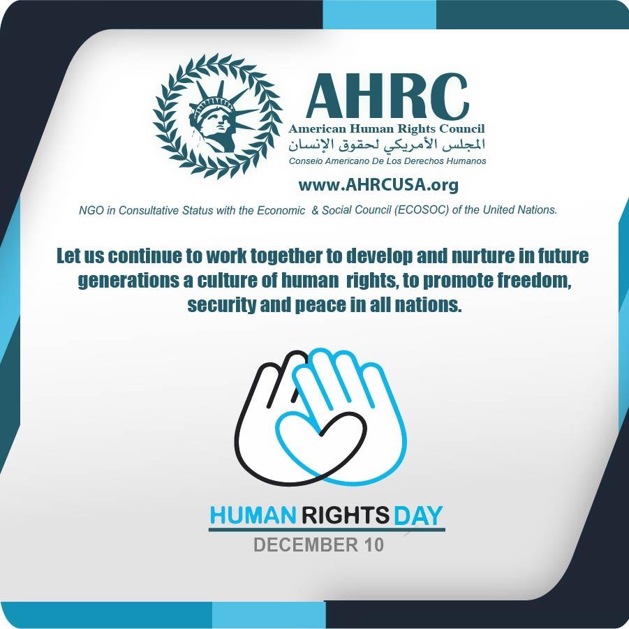 AHRC Observes International Human Rights Day- December 10
