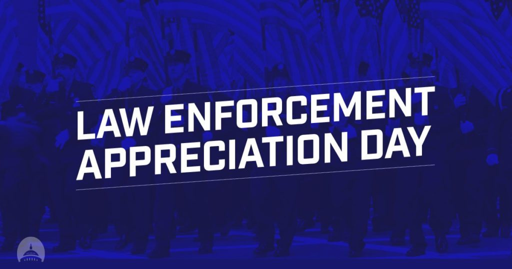 National Law Enforcement Appreciation Day- Jan. 9