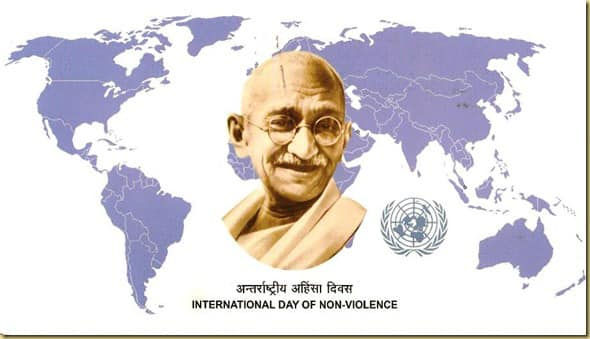 AHRC Recognizes International Day of Non-Violence- October 2