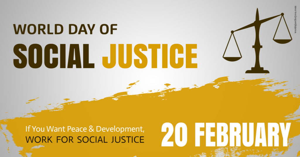 AHRC Recognizes World Day of Social Justice, February 20