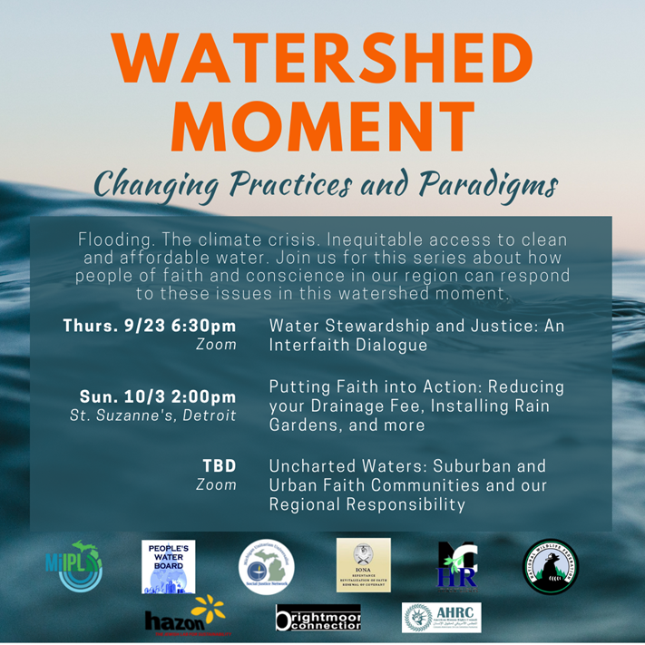 Water Stewardship and Justice: An Interfaith Dialogue