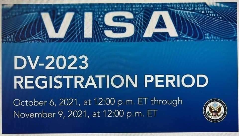 2023 Diversity Visa Program (DV-2023)